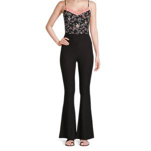 "Black flaired leggings ""hippie pants"" size: XL"